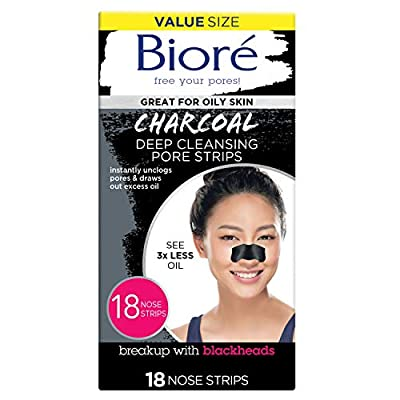 Instantly unclog your pores: Bioré pore strips instantly clean and unclog pores to purify your skin for the deepest clean in just 10 minutes Reduce blackheads: See instant results when you use Bioré pore strips; With continual use, you can help reduc...