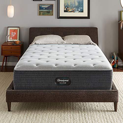 Beautyrest Silver BRS900-C 14 inch Plush Innerspring Mattress, King, Mattress Only