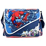 Accessory Innovations Children's Character Messenger Style Over The Shoulder Book & Laptop Bag, Spiderman