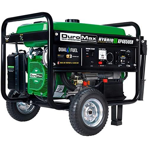 DuroMax XP4850EH Generator-4850 Watt Gas or Propane...