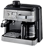 De'Longhi BCO330T and Espresso Machine, 24' x 14' x 14', Black/Stainless Steel