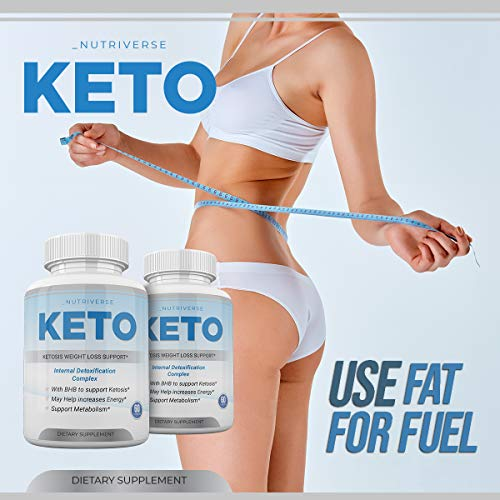 Nutriverse Keto - Ketosis Weight Loss Support - Intenal Detoxificatino Complex - 30 Day Supply 6