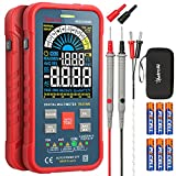 AstroAI Digital Multimeter 10000 Counts TRMS Auto-Ranging Color LCD Screen Voltmeter, Fast Accurately Measures Voltage Current Amp Resistance Continuity Duty-Cycle Capacitance Temperature