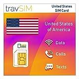 Tarjeta SIM prepago de EE. UU. Con 15 GB de datos móviles para usar en los Estados Unidos, válida por 30 días en los EE. UU. No se permite el anclaje a red / Hotspot. La tarjeta SIM viene con minutos y mensajes locales ilimitados en los Estados Unido...