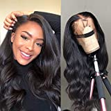 360 Body Wave Lace Frontal Wigs Human Hair Brazilian Black Women 150% Density Pre Plucked With Baby...