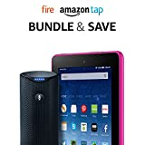 """Fire Tablet, 7"""" Display, 16 GB - includes Special Offers + Amazon Tap – Alexa-Enabled Portable Bluetooth Speaker (Product Bundle)"""