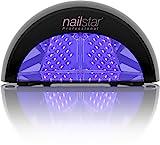 NailStar Lampe Sèche-Ongles à LED Professionnelle pour Laque, Shellac,...