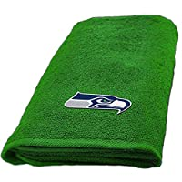 Set of 2 NFL Seahawks Decorative 26x15 Hand Towels #37655506 Officially licensed 100 percent polyester Machine washable