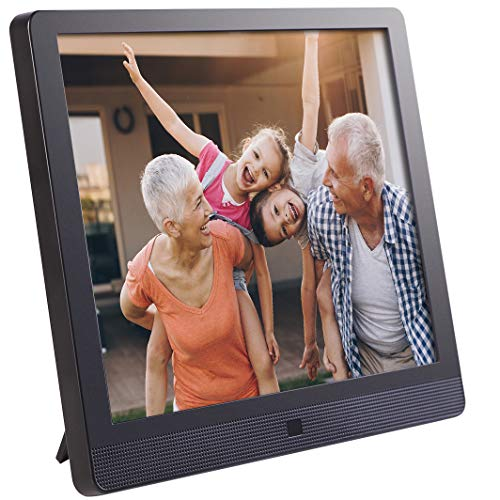 Pix-Star 15 Inch Wi-Fi Cloud Digital Photo Frame FotoConnect XD with Email, Online Providers, iPhone & Android app, DLNA and Motion Sensor (Black)