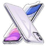 Losvick Coque pour iPhone 11, 2 Pack Verre Trempé Protection écran,...