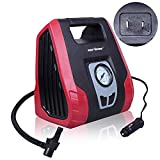 CARTMAN AC/DC Tire Inflator, Portable Air Compressor for Home 110V AC and Car 12V DC Swift Performance Inflator for Car, Bicycle, Motorcycle, Basketball and Others