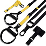 TRX ALL-IN-ONE Suspension Training: Bodyweight Resistance System   Full Body Workouts for Home, Travel, and Outdoors   Build Muscle, Burn Fat, Improve Cardio   Free Workouts Included