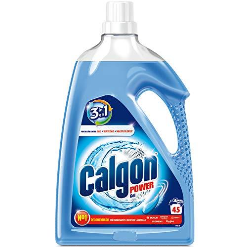 Calgon Power Gel - Antical para la Lavadora, Elimina Olores y Suciedad, en Formato Gel, 2.25 l, 45 dosis