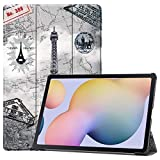 zhishen Funda para Tableta para Samsung Galaxy Tab S7 Plus T970 T975 SM-T970 AM-T975 12.4 La Carcasa de la computadora-T970-TieTa