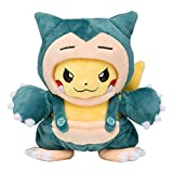 Pokemon Center Original stuffed Snorlax maniac Pikachu