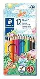 Staedtler Noris 144, Crayons de couleur de haute qualité avec système...