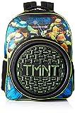 Nickelodeon Boys' TMNT Sewer Neoprene 16' Backpack, black, One Size