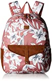 Roxy Junior's Carribean Printed Backpack, withered rose lily house, One Size