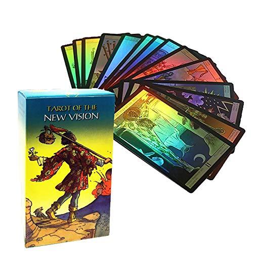 YISHIYI New Vision Tarot Deck Cards English, French,...