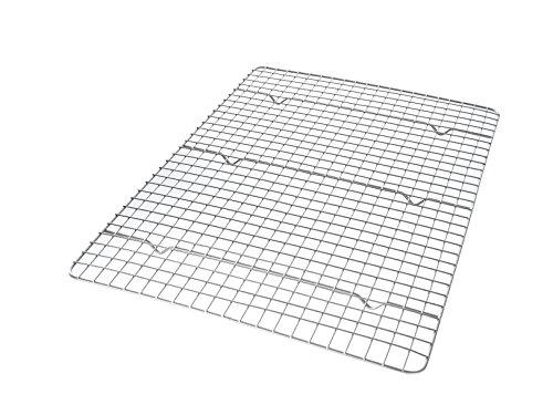 USA Pan Half Sheet Bakeable Nonstick Cooling Rack, Pan, Metal