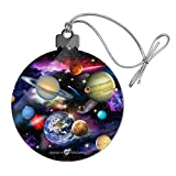 GRAPHICS & MORE Planets Solar System Earth Saturn Jupiter Mars Pattern Acrylic Christmas Tree Holiday Ornament