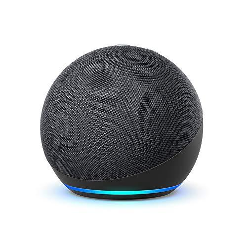 Nouvel Echo Dot (4e génération), Enceinte connectée avec Alexa, Anthracite