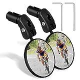 EEEKit Bike Mirror, 1 Pair HD Wide Angle Bicycle Cycling Rear View Mirror, Adjustable Handlebar Safe...