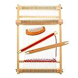 Set di telai per tessitura in legno, per lavori a maglia a mano, per principianti e bambini