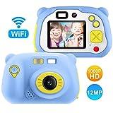 Appareil Photo pour Enfant, avec Carte TF 16 Go, Caméra Selfie Rechargeable Numérique pour...