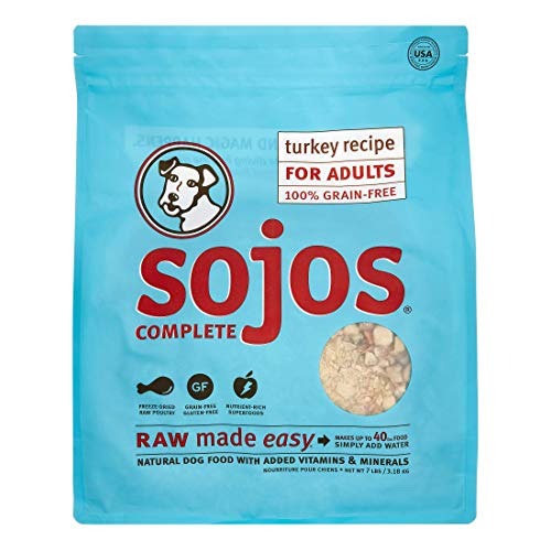 Sojos Complete Natural Raw Freeze Dried Dog Food...