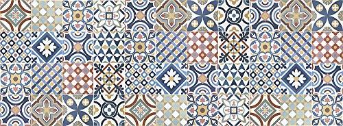 Viniliko Gimaraes Tappeto in Vinile, Multicolore, 66 x 180 cm
