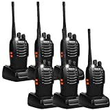 Retevis H-777 Two Way Radio Single Band 2 way radios Long Range UHF Rechargeable Walkie Talkies for Adults(6 Pack)