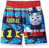 Thomas The Train Boys Thomas Toddler Swim Trunk, Red, 3T