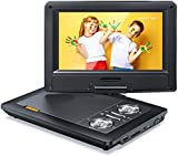 APEMAN 12'' Portable DVD Player with 9.5'' HD Swivel Screen, 6.5-8 Hrs Rechargeable Battery, Support...