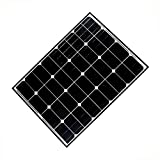 ALEKO SP95W12V 95 Watt 12 Volt Monocrystalline Solar Panel for Gate Opener Pool Garden Driveway