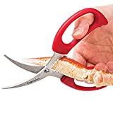 Prepworks by Progressive Seafood Scissors,  GT-3157 , King Crab, Lobster, Shellfish, Crawfish, Prawns, Crab Leg Crackers
