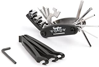 WOTOW 16 in 1 Multi-Function Bike Bicycle Cycling Mechanic Repair Tool Kit with 3 pcs..