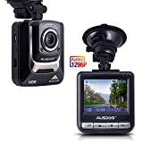 Ausdom Dash Cam, Dashboard Camera Recorder with Full HD 1296P, 2.4' LCD, Wide Angle,Night Vision , G-Sensor, WDR, Loop Recording