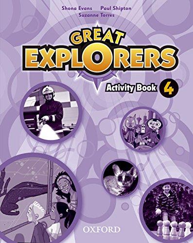 Great Explorers 4: Activity Book - 9780194507608