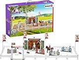 Schleich Horse Club Big Horse Show with Horses 59-piece Educational Playset for Kids Ages 5-12