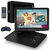 Jekero 16.9'' Portable DVD Player with 14.1'' HD Swivel Screen Car DVD Player Portable 5 Hrs...