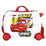 Disney Cars Joy Maleta Infantil Multicolor 50x38x20 cms Rígida ABS Cierre combinación 34L 2,3Kgs 4 Ruedas Equipaje de Mano
