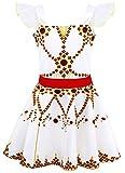 AmzBarley Niña Felicie Vestido Disfraz Bailarina Ballerina Danza Ballet Niños...