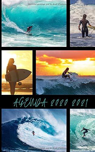Agenda Scolaire 2020 2021 / 300 pages / Couverture SURF Photos