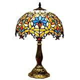 12 pouces Lampe de Table Tiffany style, Rétro Décoration Lampes à poser...