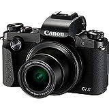 Canon コンパクトデジタルカメラ PowerShot G1 X Mark III ブラック APS-Cセンサー/F2.8レンズ/EVF内蔵 PSG1XMARKIII