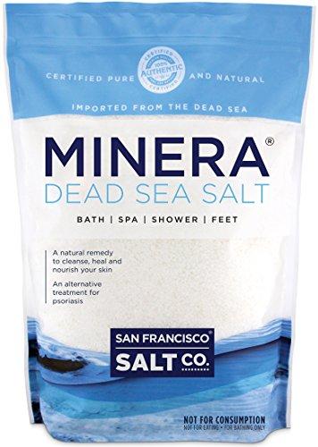 Minera Natural Dead Sea Salt - 5 lbs. Bulk - Fine...