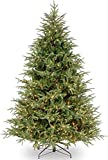 National Tree Company 'Feel Real' Pre-lit Artificial Christmas Tree   Includes Pre-strung White Lights   Frasier Grande Tree - 7.5 ft