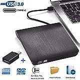 iAmotus Lecteur CD DVD Externe, Graveur DVD Externe Portable USB 3.0 Type C...