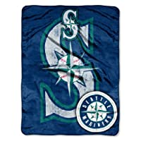 "Features team name and logo as a distressed, rugged look Soft and warm micro raschel fabric; decorative binding around all edges Measures 46""W x 60""L Machine wash cold separately using delicate cycle and mild detergent. Do not bleach. Machine dry sep..."